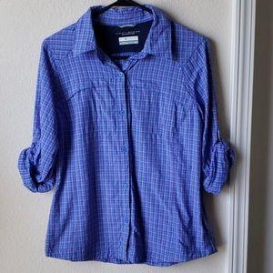 Columbia Omni-Shade button down shirt